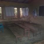 Und ein Klassenzimmer der jüngeren Schüler (im alten Schulgebäude)