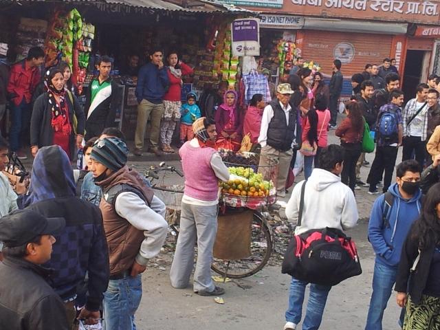 Los geht's in Richtung Pokhara
