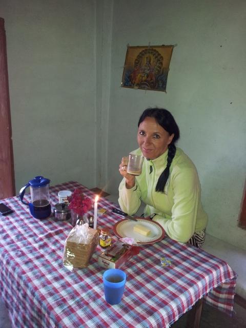 ... unser erster Morgen in Bhakkal