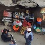 Garküchen in Kathmandu