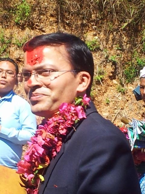 Politiker aus Kathmandu.
