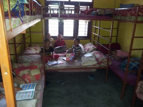 Schlafzimmer der Kleinen ...