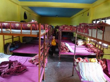 Großer Schlafsaal ...