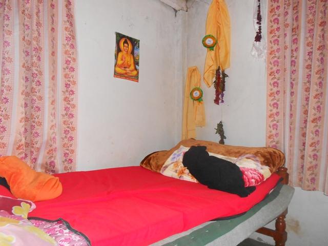 ... und unser Zimmer nach einem Tag - Brigitte hat zugeschlagen