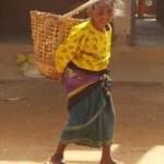 Dorfbewohnerin