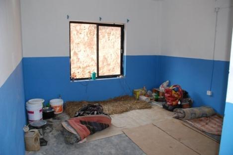 Leben und Arbeiten auf der Baustelle