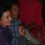 Klasse Gesangstimme (Frau mit Baby)