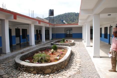 Innenhof des Hospitals