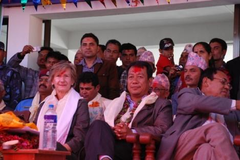 Gräfin Verena von Röden, Mr. Kiran Gurung
