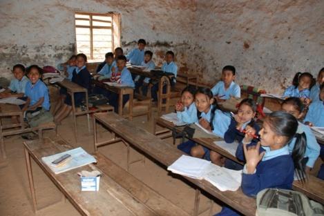 Situation im Klassenraum