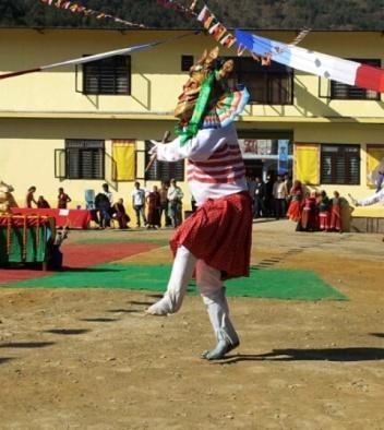 Rhythmischen Tänzer