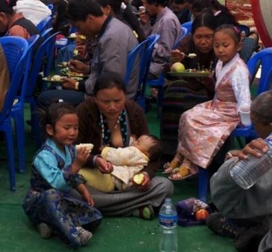 Tibetische Besucher