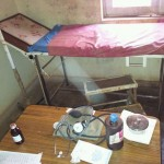 Geburtszimmer im health post