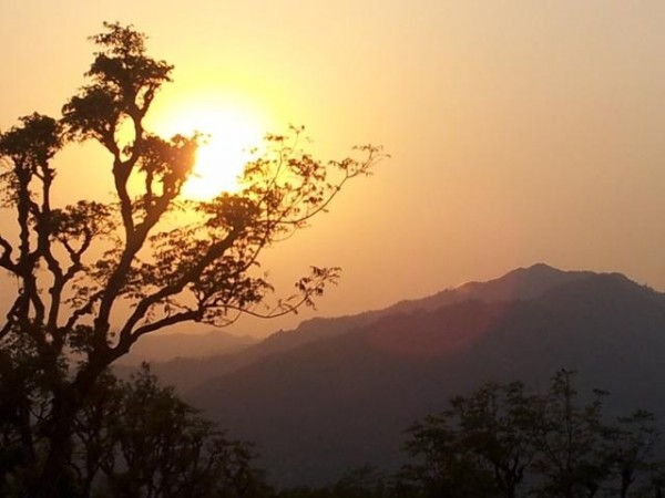 Sonnenuntergang Bakhal