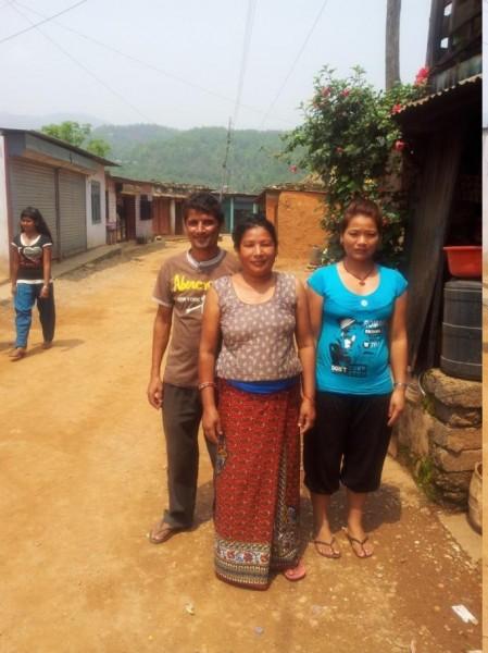 Im  Dorf Sankhe ... Pulmoja deine veg. Nudeln und deine Bohnen werden wir vermissen!