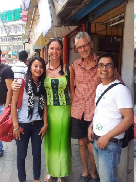 Tschüss und Namaste Laxmi und Dr. Bikhas, wir werden euch vermissen!