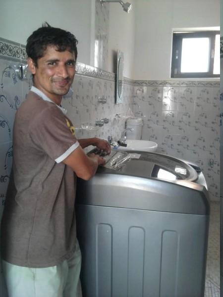 ... ein glücklicher Jotti, welcher nun nicht mehr von Hand waschen muss.