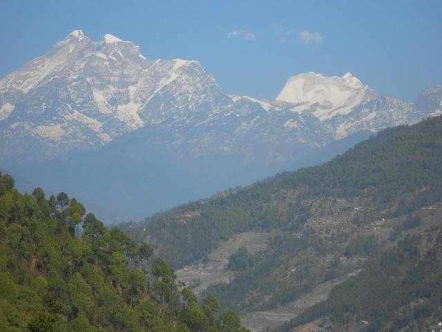 Rückfahrt aus dem Himalaya